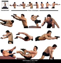 shooting poses - Google 검색