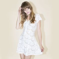 Gabrielle Lace Dress  I am gonna live, die, and be buried in this dress #valfrewishlist