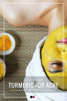 Not sure how to use turmeric for acne? We've revealed it all!