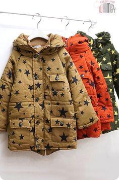 Star Pop Padded Winter Jacket #kids #fashion