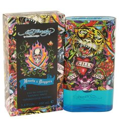 Ed Hardy Hearts & Daggers By Christian Audigier Eau De Toilette Spray 3.4 Oz