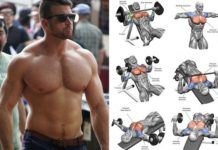 lower chest workout for rounded and defined pecs