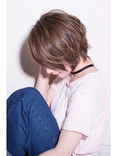 【Euphoria/土田哲也】☆クールカジュアルな☆こなれショート - 24時間いつでもWEB予約OK!ヘアスタイル10万点以上掲載!お気に入りの髪型、人気のヘアスタイルを探すならKirei Style[キレイスタイル]で。