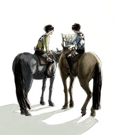 Levi and Eren trying to read a map