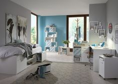 Teenage Room, New Beds, Dream Rooms, Bed & Bath, Vanity, Room Decor, Mirror, House, Furniture
