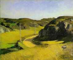 Hopper, Edward   Road in Maine