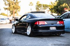RSX look at the camber in the back Honda Rsx, Honda Integra Dc5, Acura Rsx Type S, Acura Tsx, Car Head, Rims For Cars, Japan Cars, Jdm Cars, Cars Motorcycles