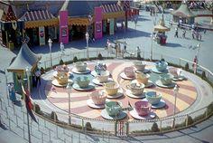 A Peek at Vintage Disneyland. – Tea Cups