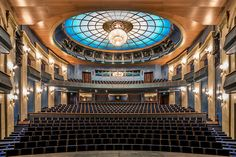 Majestic Auditorium Photo Series by Zsolt Hlinka – Fubiz Media Acrylic Photo Prints, Quality Photo Prints, Hanging Frames, Color Depth, Photo Series, Auditorium, Unique Image, Budapest, Service Design