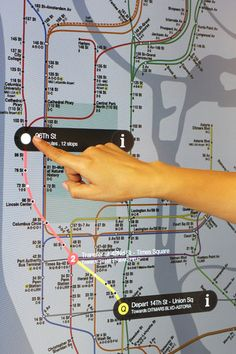 NYC Subways Deploy A Touch-Screen Network, Complete With Apps. AWESOME! Wish every city has this.
