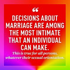 The 10 Most Moving Quotes From the Supreme Court's Same-Sex Marriage Decision #lovewins