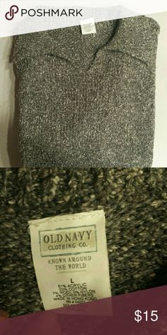 Knit Sweater Heavyweight, durable, warm sweater EUC Old Navy Sweaters