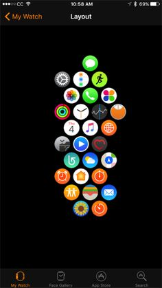 Apple Watch: It's time for the honeycomb interface to go!
