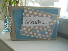 Adressbücher - Adressbuch - ein Designerstück von szamie bei DaWanda
