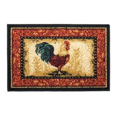 11 Best Rooster Rug Images Roosters Hens Rooster