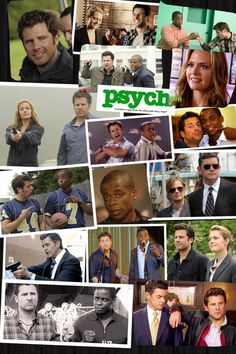 James Roday, Maggie Lawson, Dule Hill, Timothy Omundson | Psych