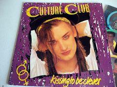 Culture Club vintage record album Boy George music