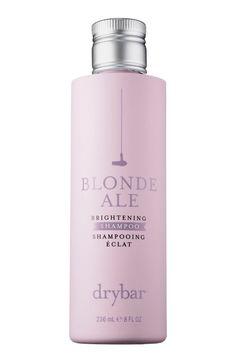 10 Best Shampoos For Color Treated Hair - Drybar Blonde Ale Brightening Shampoo Best Purple Shampoo, Shampoo For Gray Hair, Hair Shampoo, Sephora, Blondes Sexy, Blonde Ale, Icy Blonde, Hair Cleanse, Shopping