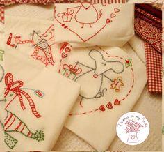 Christmas stitching ~ threadsonmysocks