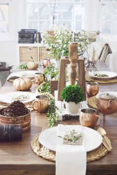 My Rustic Thanksgiving Table & My Favorite Gluten Free Side Dish