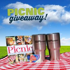 Enter the giveaway for your chance to win a picnic bundle worth over $250.00!  2 Yeti Tumblers 30oz  -- $50.00 Walmart Gift Card --  1 Picnic Cookbook  -- 1 Picnic Cooler with plates/utensils -- 1 Picnic Blanket -- 1 Wilson Football  -- Lots of SR Max Swag -- 1 pair of SR Max Slip Resistant Shoes