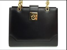 Celine Black Calfskin Leather  Handbag  v239054703 by gailparker4, $497.00