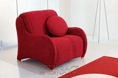 Magica sleeper chair by Bonaldo Contemporary Sleeper Sofas, Sleeper Chair, Guest Bedroom Office, Condo Remodel, Sofa Design, Floor Chair, Modern Decor, Contemporary Design, Small Spaces