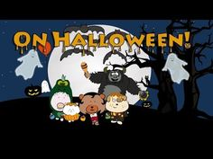 """On Halloween"" - Fun and Cute Halloween song for children - by The Singing Walrus"