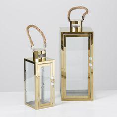 Stylish lantern! #laterne #lantern #gold #glass #summer #boathouse