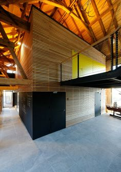 Maire School and City hall / ideaa architectures