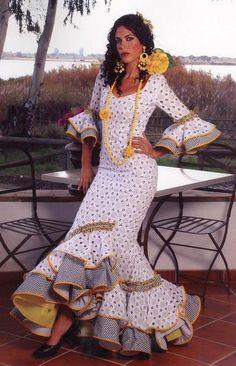 moda flamenca .