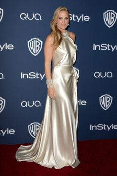 Molly Sims - 2014 InStyle and Warner Bros. Golden Globe Awards Post-Party (Jan. 12)