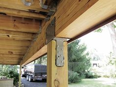 Stronger Post-to-Beam Connections