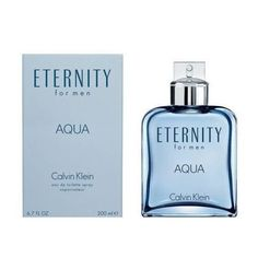 Eternity Aqua by Calvin Klein 6.7 oz EDT Cologne for Men New In Box (Only Ship to United States)