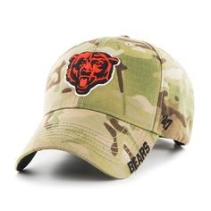 8b51931b1 Chicago Bears Myers MVP Multicam 47 Brand Adjustable Hat