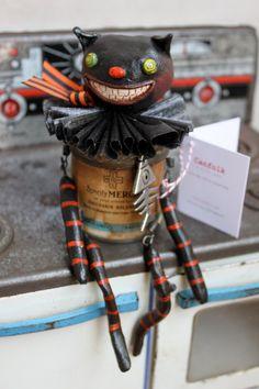 Black Cat Canfolk by Canfolk on Etsy, $40.00