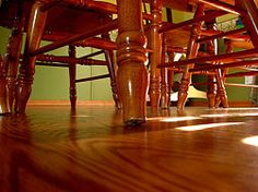 How to repair scratches in hardwood flooring