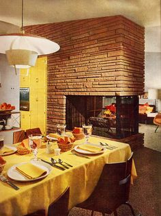 Detroit Better Home Dining Room  From Better Homes and Gardens 1952.