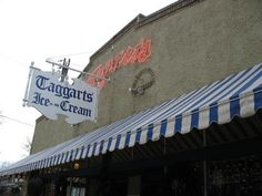 Taggart's Ice Cream!  Home of the Bittner!