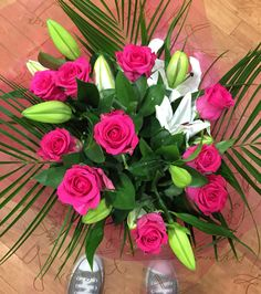 #roses and #lillies #pallotsflorist #pallotflowers #cheapside #sthelier #jersey #jerseyci