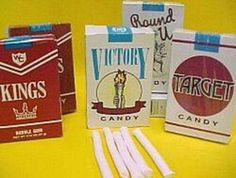 vintage+candy+cigarettes | So 80's. Candy cigarettes | Old School