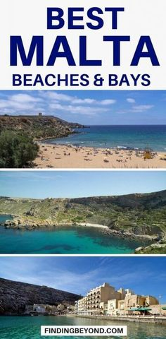 Overwhelmed by the number of beautiful beaches in Malta? Then read our latest blog which will help you find the best beaches to visit. #malta #maltabeaches #bestofmalta #maltabays #top10beachesinmalta #maltaguide #maltatips #exploremalta #visitmalta Best Beaches To Visit, Cool Places To Visit, Places To Travel, Travel Destinations, Europe Travel Guide, Travel Guides, Malta Beaches, Travel Advice, Travel Plan