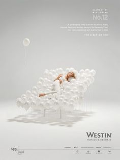 Elements of Well Being campaign for Westin Hotels & Resorts photographed by Grégoire Alexandre.