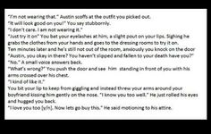 I WOULD NEVER MAKE AUSTIN GET WHAT HE DOESNT LIKE!!