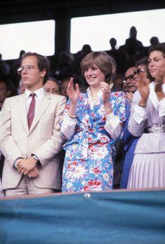Princess Diana Fashion, Princess Anne, Princess Margaret, Princess Of Wales, Lady Diana Spencer, Wimbledon, Queen's Official Birthday, Prince Albert Of Monaco, David And Victoria Beckham