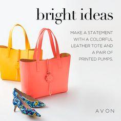 Bright #Fashion Ideas https://www.avon.com/?s=ShopTab&rep=tseagraves&c=MB_Pinterest&utm_source=MB_Pinterest