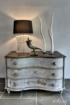 Rustic Dresser finish