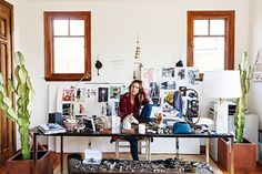 A Look Inside Erin Wasson's Bohemian Venice Home