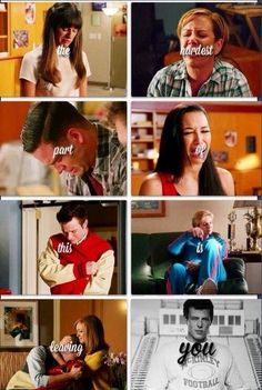 Saddest episode of glee.