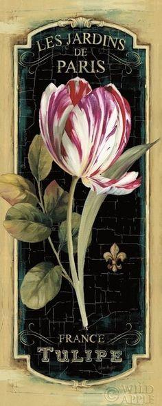 """ღღ """"Garden View IV Black"""" by Canadian artist Lisa Audit"""